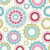 Floral background seamless pattern — Stock Vector