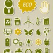 Ecology icons set — Stock Vector #21113411