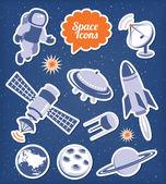 пространство иконы set — Cтоковый вектор