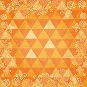 Fondo de mosaico floral — Vector de stock