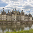 Stock Photo: Chateau de Chambord of Loire Valley