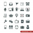 Universal icons — Stock Vector #31700513