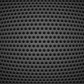 Teknik bakgrund med carbon textur — Stockvektor