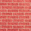 Saturated brick wall — Stock Photo