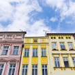 Tenement houses — Stock Photo
