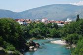 View on the Naretwa river — Stock Photo