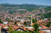 Cityscape of Sarajevo — Stock Photo