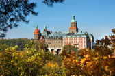 Ksiaz castle in Poland — Stock Photo