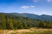 Bieszczady dağlarında güzel sonbahar — Stok fotoğraf
