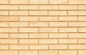 Muro di mattoni arancione — Foto Stock