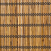 Wicker mat surface — Stock Photo