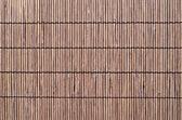 Brown wicker mat — Stock Photo