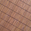 Brown wicker mat — Stock Photo