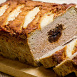 Pate stuffed with prunes — Stock Photo