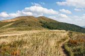 Bieszczady mountains — Stock Photo