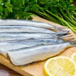 Raw herrings - Stock Photo