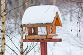 Bird feeder — Stock fotografie