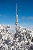 Transmitter on Sleza Mountain — Stock Photo