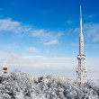 Transmitter on Sleza Mountain — Stock Photo