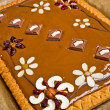 Stockfoto: Traditional polish butterscotch cake