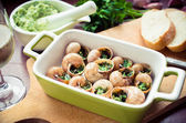 Bourgogne snails — Stock Photo