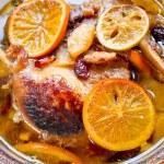 Ducks in oranges — Stock Photo