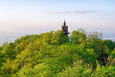 The top of Sleza mountain, Poland — Stock Photo