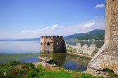 Golubac castle in Serbia — Stock Photo