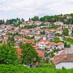 Panorama of Ohrid, Macedonia — Stock Photo