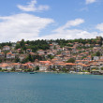 Cityscape of Ohrid, Macedonia — Stock Photo