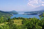 Debarsko lake in Maceodonia — Stock Photo
