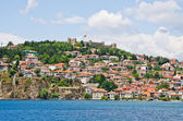 Cityscape of Ohrid, Macedonia — Stock Photo