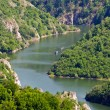 Canyon of Uvac river, Serbia — Stock Photo