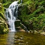 Famous Kamienczyk waterfall, Poland — Stock Photo #34576385