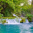 Stock Photo: Waterfall in Plitvice Lakes park, Croatia