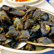 Delicious mussels — Stock Photo