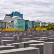 Memorial to the Murdered Jews of Europe in Berlin, Germany — Stock Photo