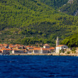 Jelsa town on Hvar island, Croatia — Stock Photo