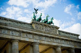 Brandenburg Gate in Berlin, Germany — Stock Photo