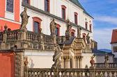 Monastery in Broumov, Czech Republic — Foto Stock