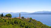 Kroatischen küste — Stockfoto