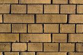 Brown brickwall surface — Stock Photo