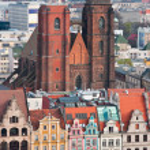 Постер, плакат: Church of Mary Magdalene Wroclaw Poland