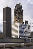 Kaiser Wilhelm Memorial Church, Berlin, Germany — Stock Photo