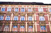 Old tenement house wall — Stock Photo