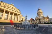 Gendarmenmarkt in Berlin - Germany — Stock Photo