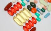 Closeup of Pills — Stock Photo