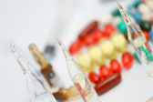 Various pills — Stock Photo