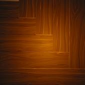 Closeup of wooden surface — Stock Vector