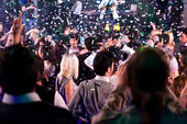 W nocnym klubie — Zdjęcie stockowe